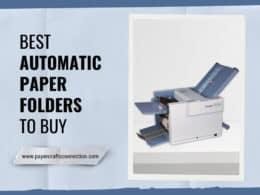 Best Automatic Paper Folders